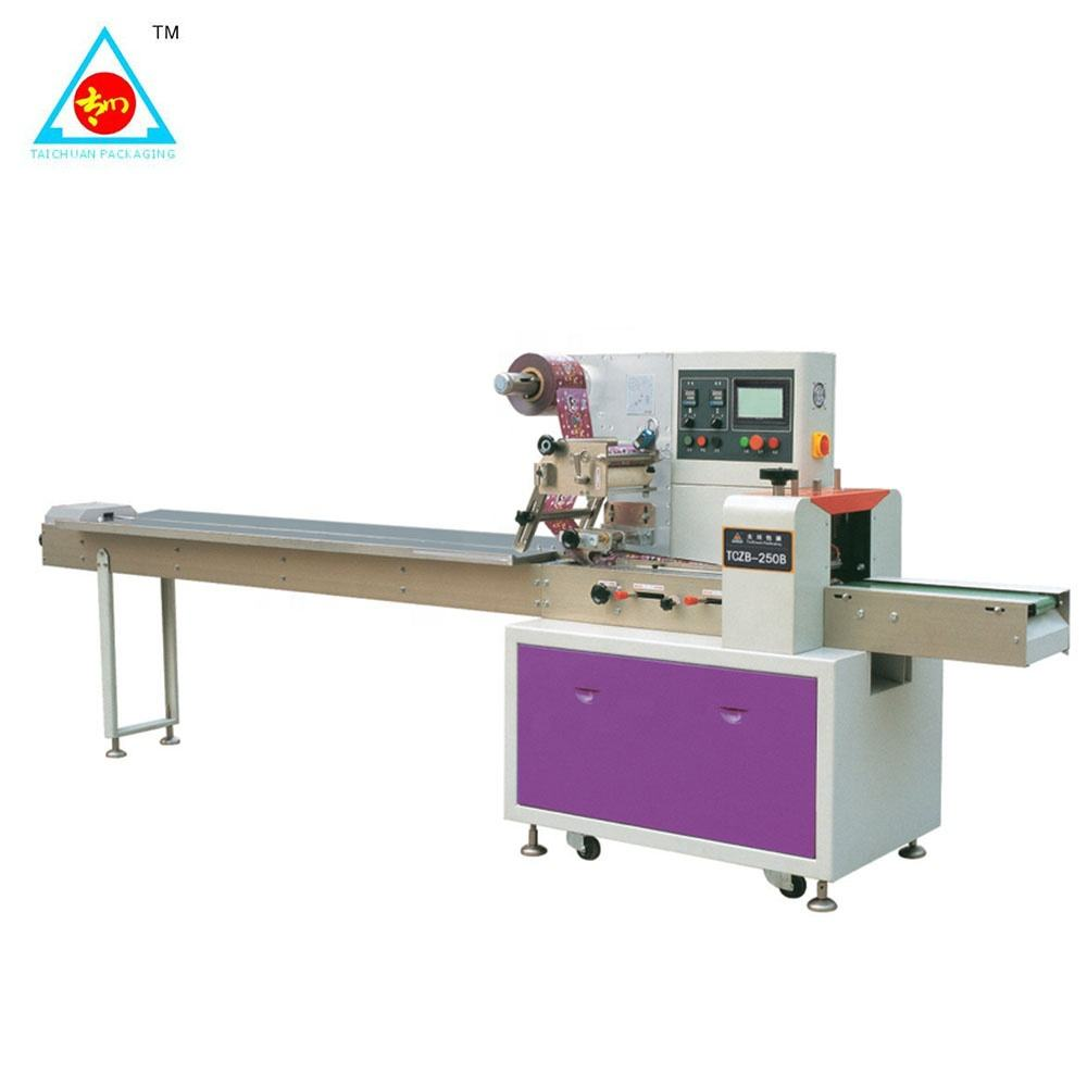 Taichaun Automatic High Speed Ice Cream / Ice Lolly / Popsicle Packaging Machine