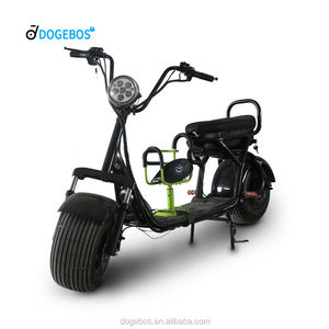 Factory Manufacturing Citycoco With Baby Seat Golf Evo 50cc Motorcycles Electric Scooter For Adult