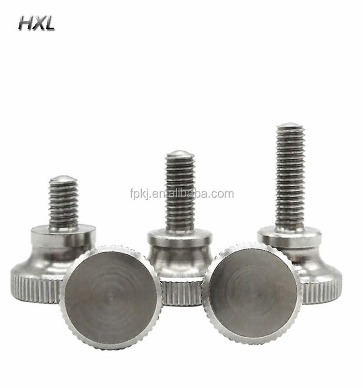 gb834 stainless steel high head adjust screw knob thumb bolt