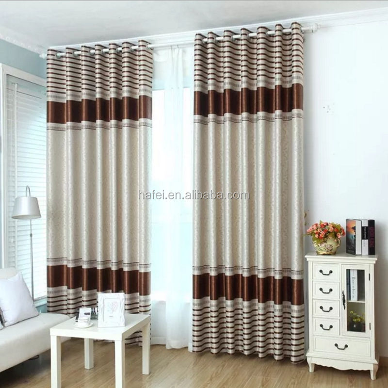 Fashionable design cheap price plain beautiful curtain