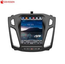 Factory Price!! Tesla Vertical Screen 10.4inch Touch Screen Car Video Player For Ford Focus 2012-2015 Car DVD Player