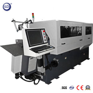10 Axes 3D CNC Wire Bending Machine with Factory Price (GT-WB-60-10A)
