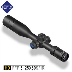 Hot!FFP Discovery HD 5-25X50SF illuminated airgun scopes long range sniper riflescope