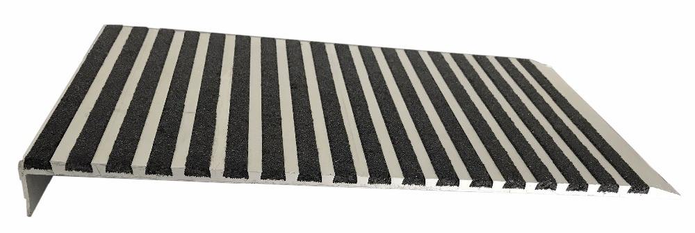 Anti Slip Grit Strip Aluminium Trap Loopvlak