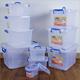 Wholesale plastic bin transparent big storage box for car /clothes /toy
