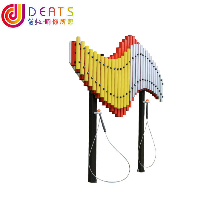 Simple metal percussion Music instrument for amusement park outdoor equipment