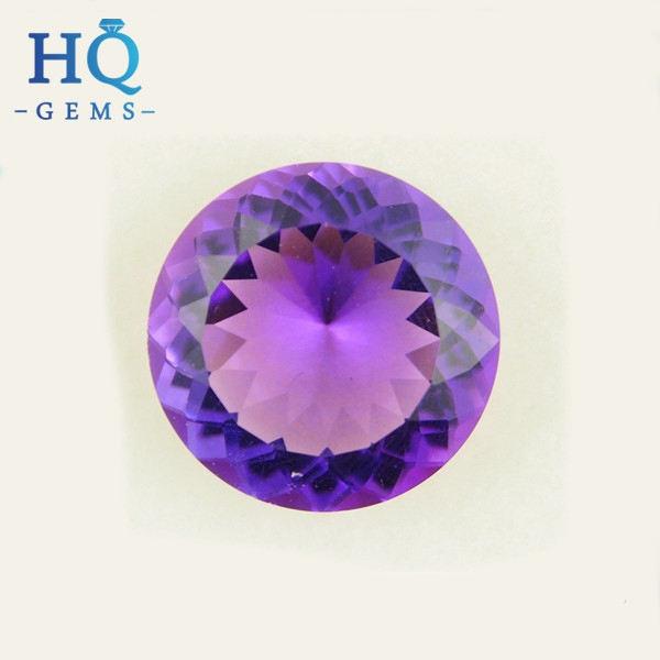 "10 Mm Naturel Facette russe Amethyst Gemstone Round Loose Bead 15/"" AAA"