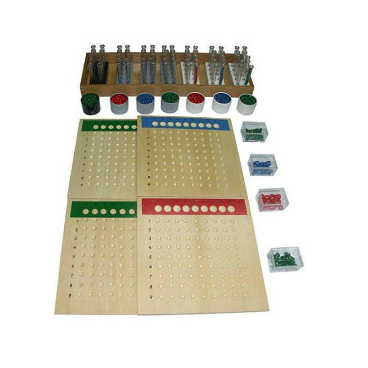 Professional Provider wooden math toys cool mathes games Long Division Material