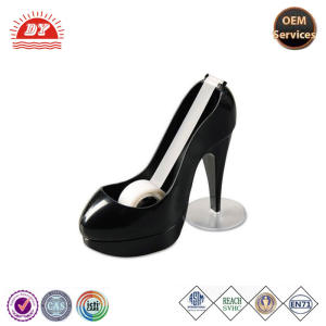 custom plastic tape dispenser desktop, high shoe tape dispenser