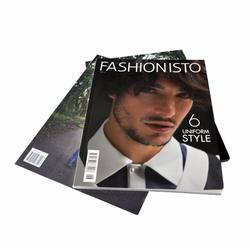cheap fashion full color monthly magazine book printing service