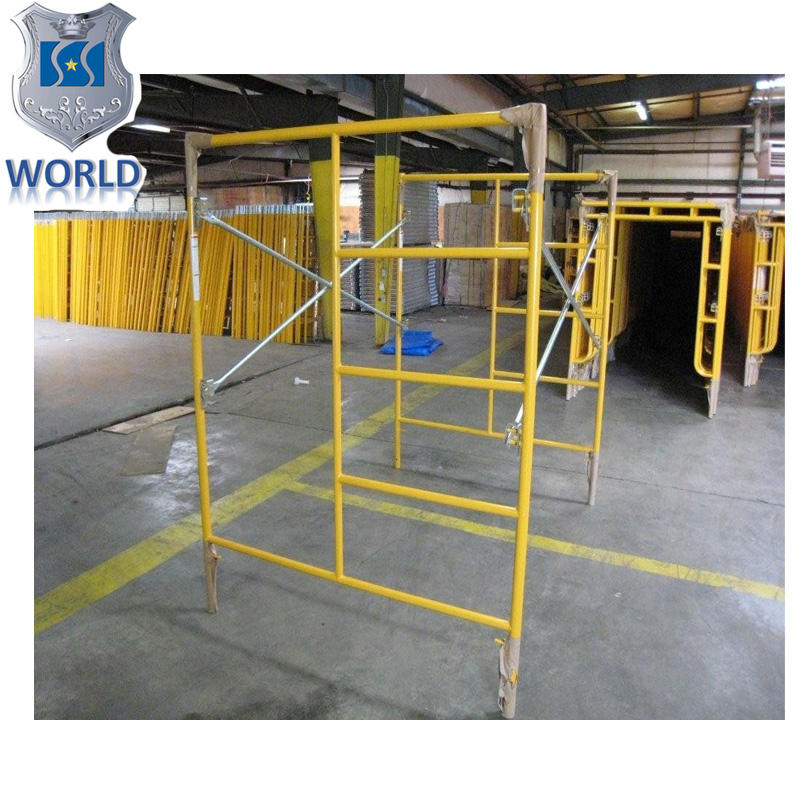 China manufacturer specialized s works OEM steel scaffolding frames