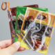 Factory supplier Resealable dried fruit plastic bags digital printing seeds food three side seal pouches cashew nut packing