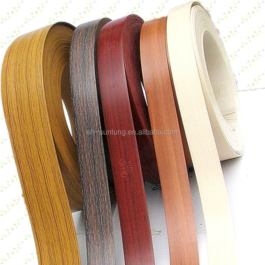 SGS Manufacturer PVC Plastic Edge Binding Tape Edgebands