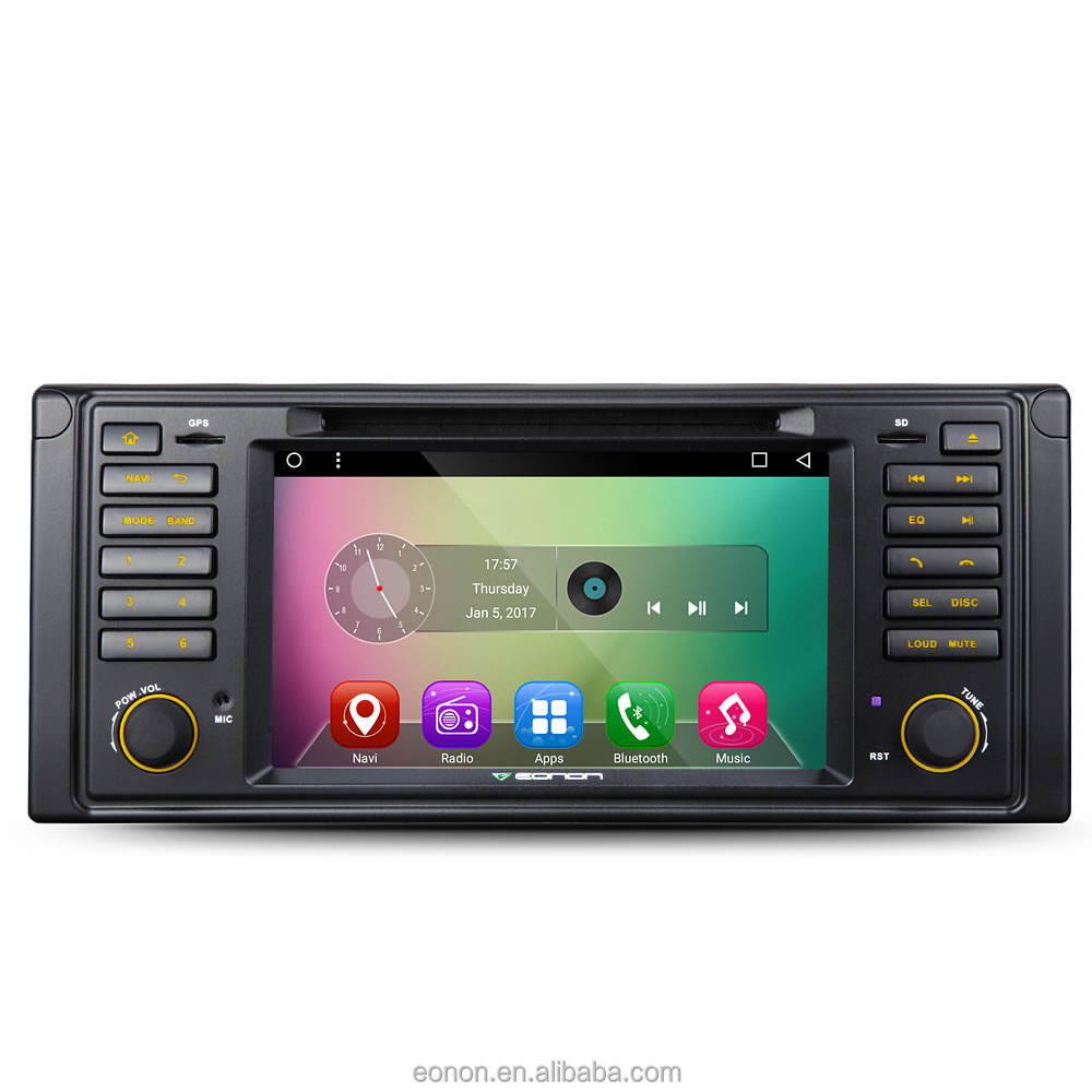 EONON GA7201 per BMW E39 Android 6.0 Lollipop 7 Pollice Multimedia Car DVD GPS