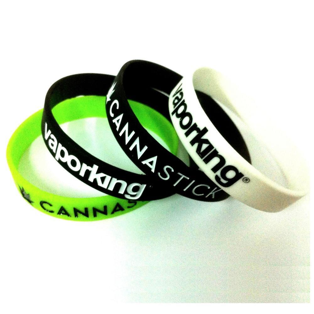 Promotional rubber bracelet highly personalized silicon wristband custom silicone bracelet