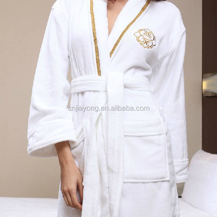 Guangzhou Wholesale waffle weave spa robes adult towelling beach robe