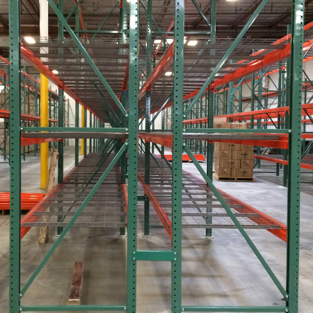 high quality steel Q235 chinese pallet storage racking and mezzanine shelving