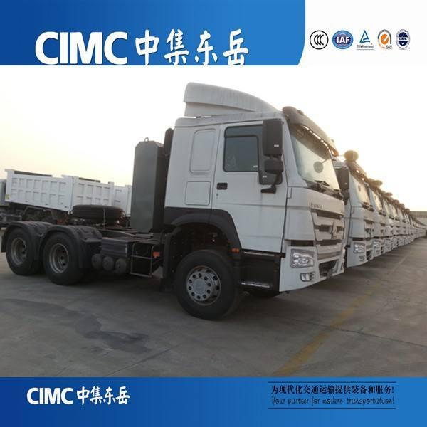 336hp, 371hp del tractor del howo cabeza de camiones, mueve la cartilla, camiones de remolque