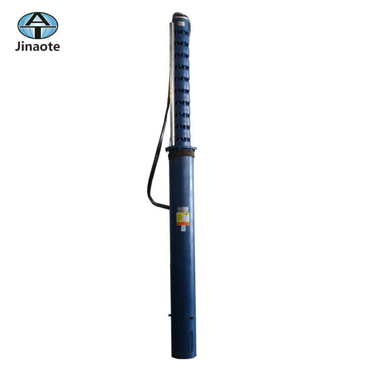 Specification of 6 inch cast grey iron submersible borehole Pump