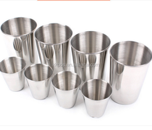 70ml Portable Stainless Steel Shot Glasses Barware Wine Drinking Glass Cup
