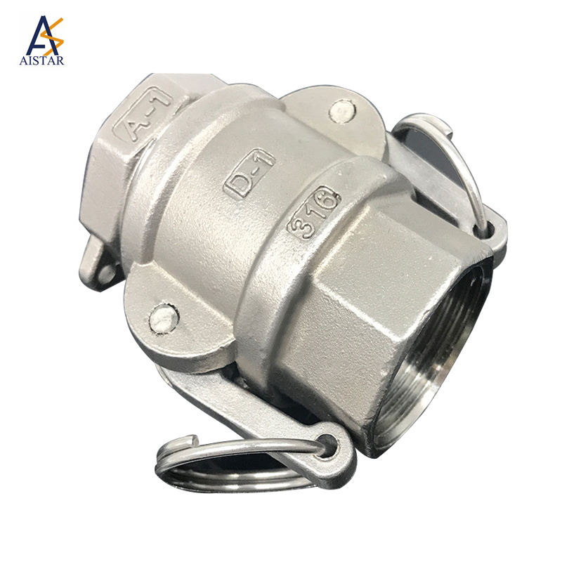 Stainless camlock quick coupling type d opw camlock coupling fittings