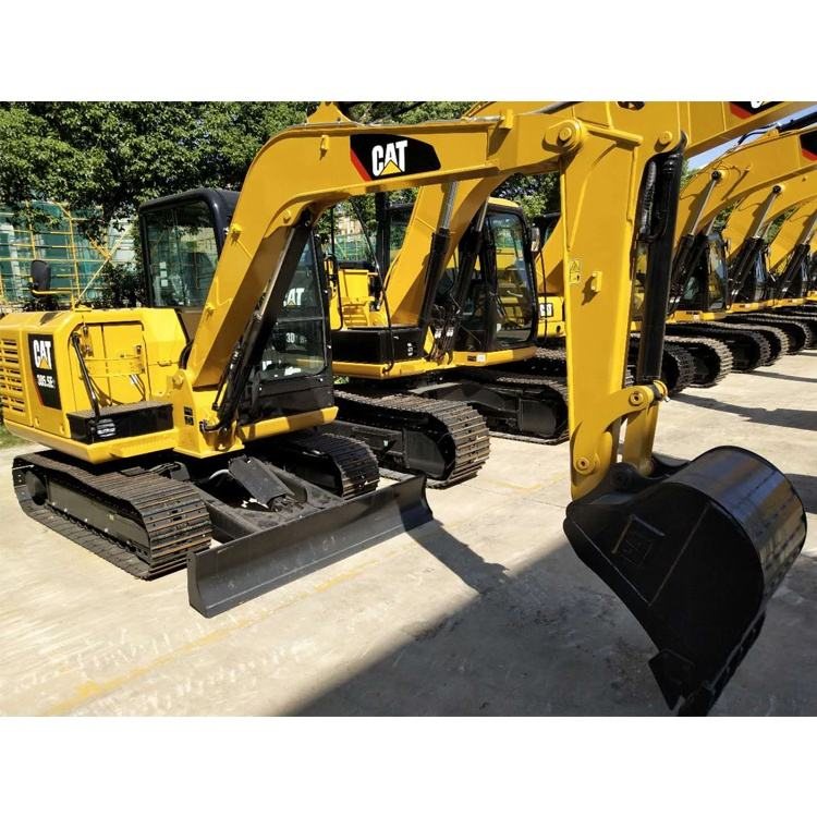 used and new caterpillar excavator 5ton crawler hydraulic excavator digger with good condition