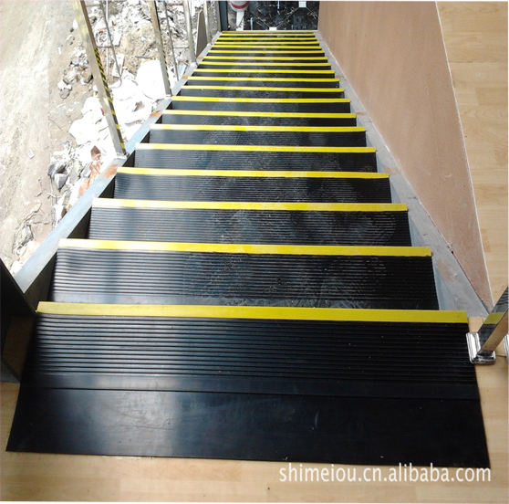 non slip rubber stair treads indoor and pads for stairs