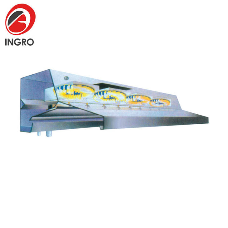 Combination Custom Range Hood 1500Cfm China Fume Extractor for Commercial Kitchen
