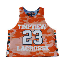 10 years experience customized made box lacrosse reversible uniform jersey