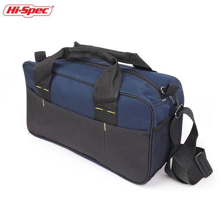 Hispec Electrician Tool Bag Mechanic Tool Storage Bag Belt Multiple Pocket Canvas Work Shoulder Bag TB008