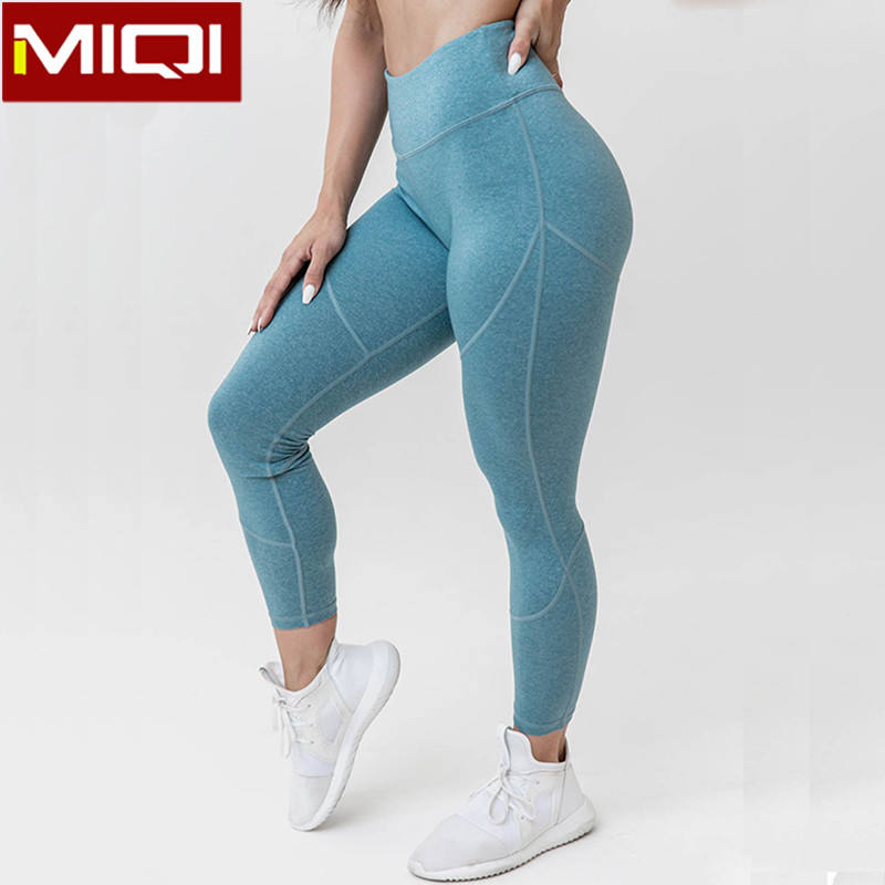 Customize Gym Tights High Quality Running Tights Woman Fitness Tights With Nylon and Spandex