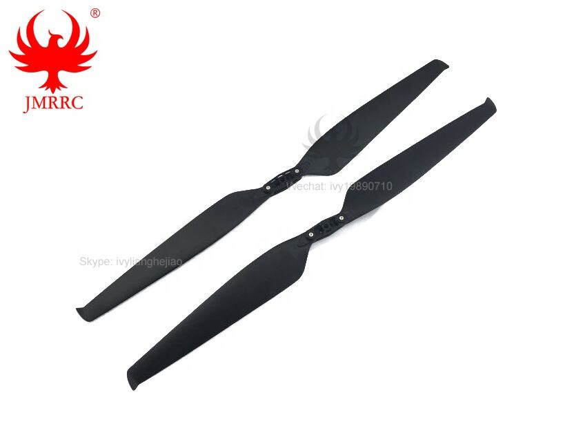JMRRC 2470 Carbon Nylon Propeller Low Noise Props Folding Propeller for Sprayer Agricultural Drone Parts Noise Reduction Blade