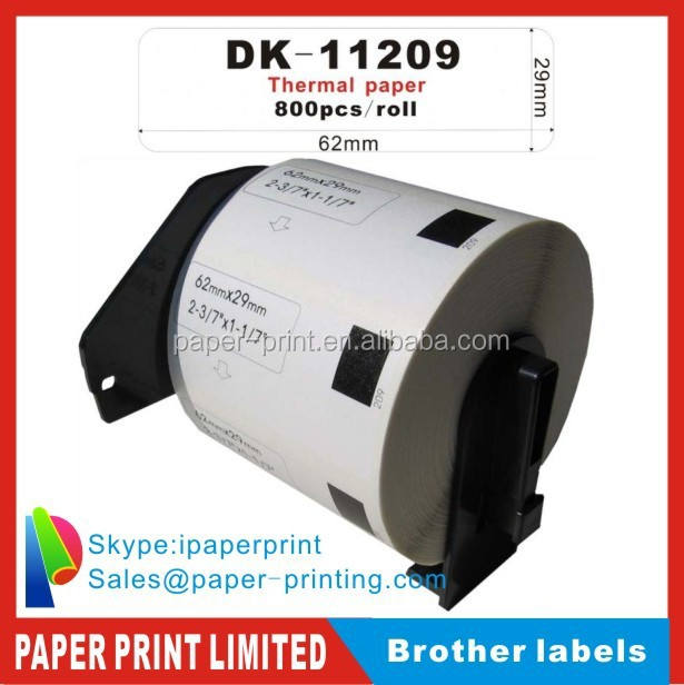 DK-11209 DK-1209 DK-209 DK11209 DK1209 DK209 for small label printer brother