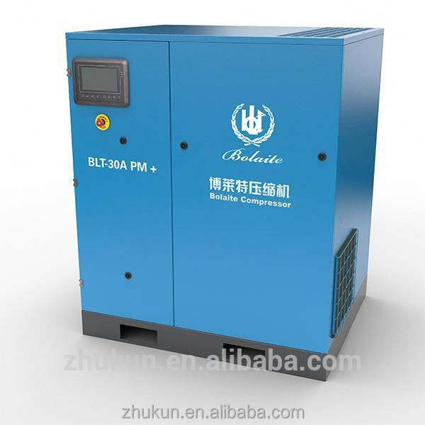Silent Italia 22kw Hot Sale Screw Air Compressor dengan VSD Vfc Frekuensi Inverter Harga