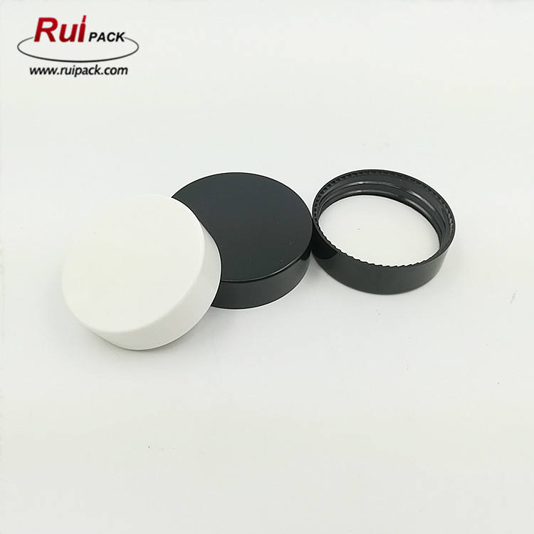 46mm PP material glass cream jar cap with PE gasket