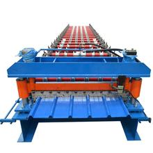 Tile Metal IBR Sheet Roof Panel Roll Forming Machine Production Line