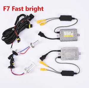 2017 Wholesale F7 75W Fast Bright HID Xenon HID Ballast HEADLIGHT LIGHT hid xenon conversion kit H1 H7 H11 HB3 HB4 D2H 9012 HIR2