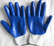 industrial double dipping nitrile cut resistant hand gloves
