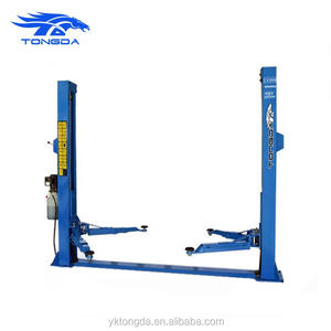 2017 hydraulische power unit auto lift twee post auto lift 4000 kg Tongda TDY-2D40M auto lift auto
