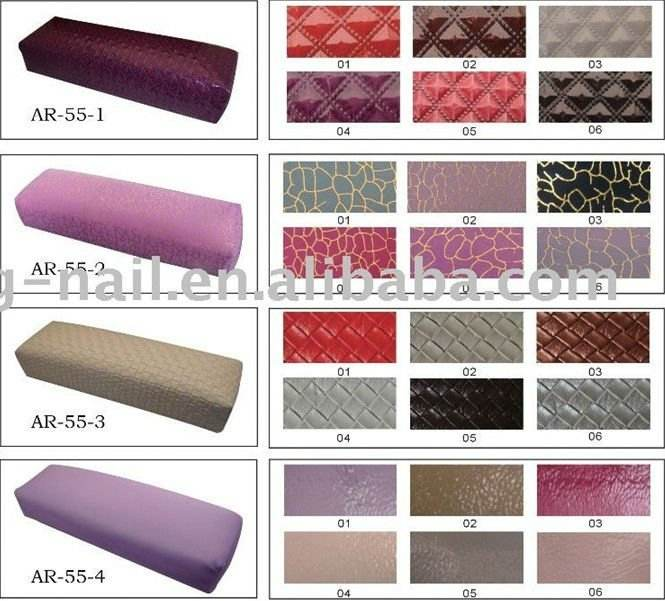 2014 new pink/white colors Soft Hand Cushion Pillow Arm Rest cushion Nail Art Manicure Art -AR-58