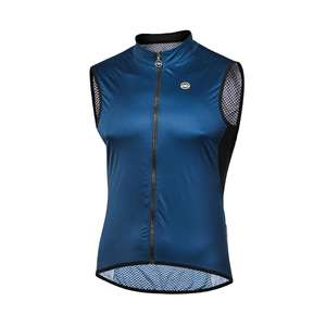 Wholesale mens custom team cycling gilets cycling wind vest clothing design manufacturer