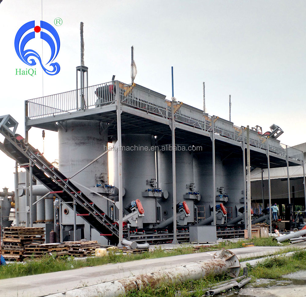 100kw wood chips gasification power plant made in china