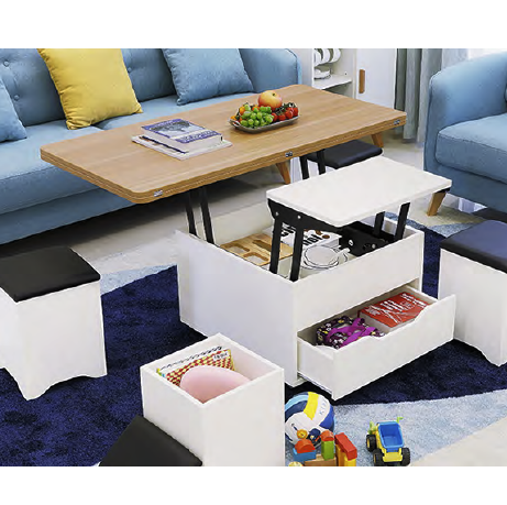 Gcon company new products Multi-purpose coffee table for dining table use