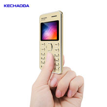 new style KECHAODA GSM back camera Reset button mini mobile phone