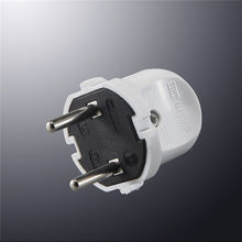 Top quality CE ROHS electrical 10A 250v European plug