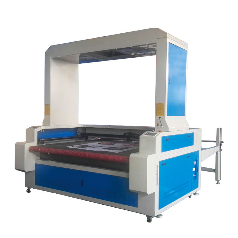 textile laser cutting machine price,CO2 auto-feeding laser cutting machine cloth with CCD big camera for fabric