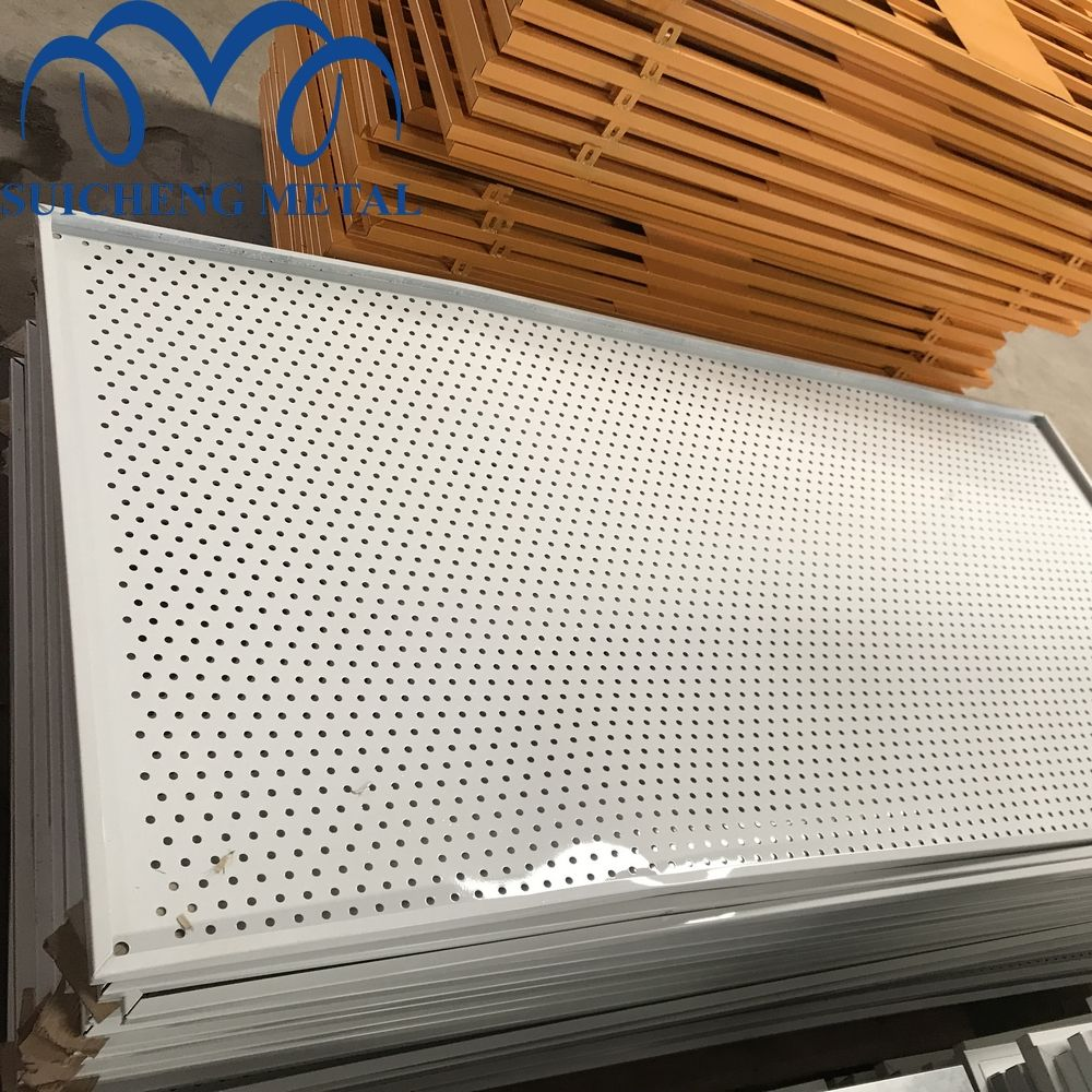 Guangzhou factory perforated metal mesh or expend/ Perforated Metal Sheet