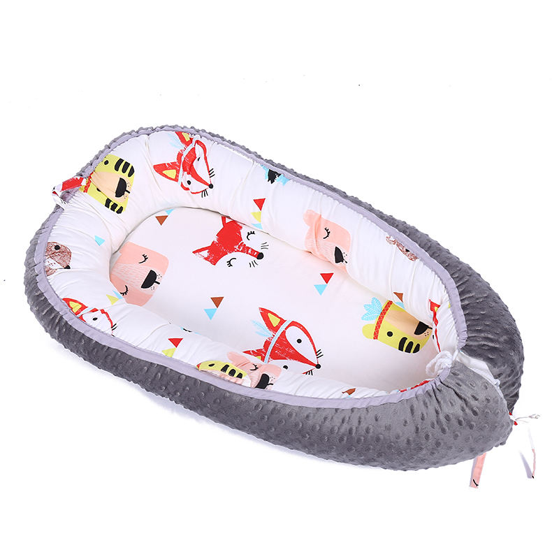 Newborn Sleep Bed Double-sided baby nest for crib