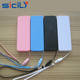 Universal Powerbank 2600mAh MicroUSB Slim Perfume design for battery charging