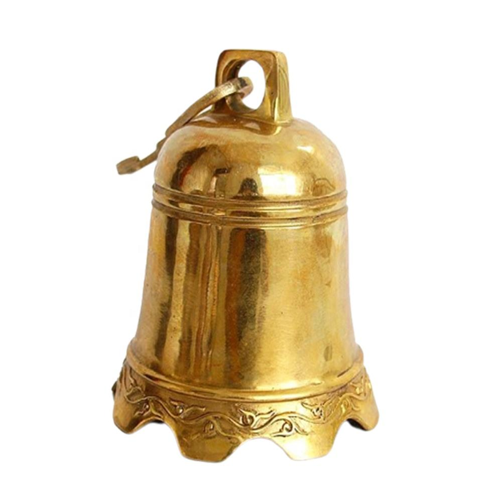 Bronze Antique Church Temple Metal Bell For Sale